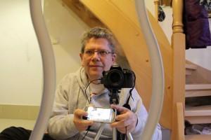 Uwe Fischer testet den DSLR Controller in der Praxis.