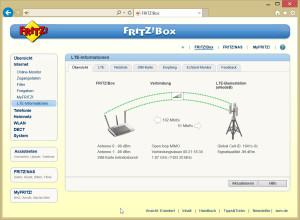 Mit der Fritzbox ist der Internet-Zugang via LTE  ausgesprochen komfortabel - wenn das Signal einmal schwach wird, bricht das Netz gleich komplett zusammen.
