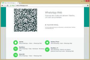 Mit dem Google Chrome-Browser lässt sich WhatsApp vom Handy auf den PC-Bildschirm holen. leider funktioniert das noch nicht mit dem iPhone.