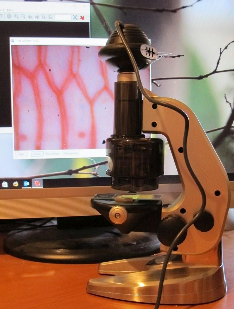 treiber mikroskop mit usb anschluss