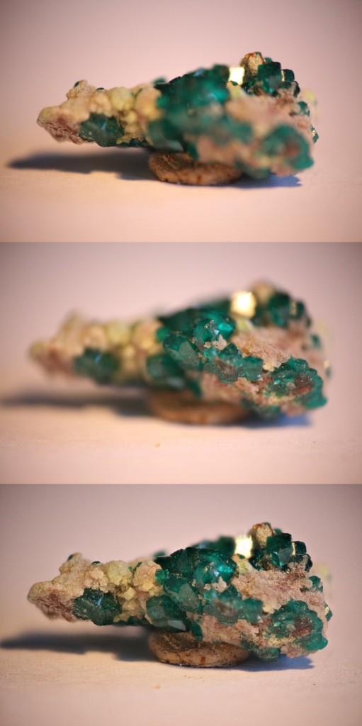 Die beiden oberen Bilder sind auf den vordersten bzw. hintersten Punkt des Steins fokussiert. Insgesamt wurden 20 Aufnahmen mit unterschiedlicher Fokussierung aufgenommen und mit Helicon Focus zu einem einzigen Bild zusammengesetzt. (c) 2016 Uwe Fischer