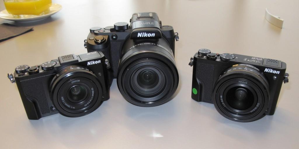Mit vorerst drei Modellen läutet Nikon seine neue DL-Serie ein, Kompaktkameras der Premium-klasse mit hochwertigen Nikkor-Objektiven. (c) 2016 Uwe Fischer